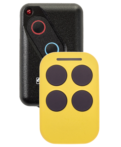 Auto Openers Yellow Boss BHT4 Remote Control